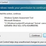 Having to deal with Windows Vista problems….